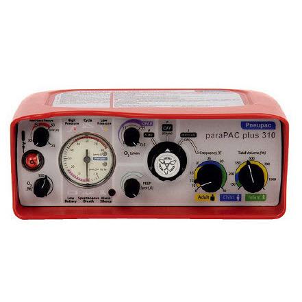 paraPAC Plus™ Transport Ventilators