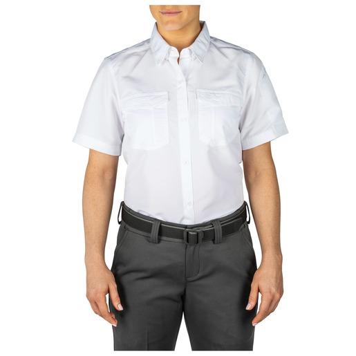 5.11® Women's Fast-Tac™ Short Sleeve Shirt, White