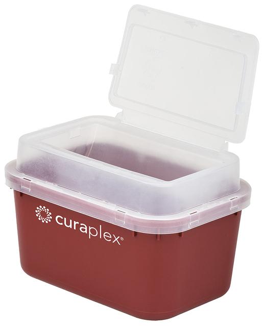 Curaplex<sup>®</sup> Sharps Container, 4qt, Dome Lid
