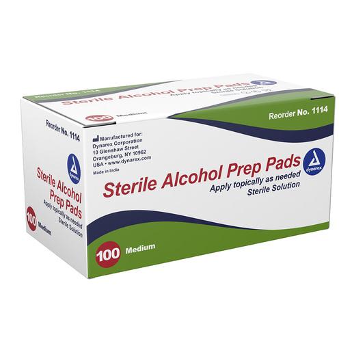 Dynarex<sup>®</sup> Alcohol Prep Pads, Sterile