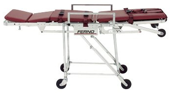 Ferno-Flex<sup>®</sup> Model 28 Roll-In Chair Cot, Burgundy