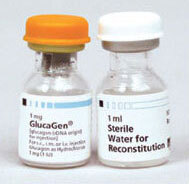 GlucaGen<sup>&reg;</sup> Injection with Diluent Kit, 1mg Vial