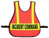 R&B Orange Safety Vest with Reflective Stripes, Triage