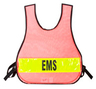 R&B Nylon Mesh Vest, EMT, Orange