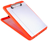 Saunders SlimMate Storage Clipboard, Orange