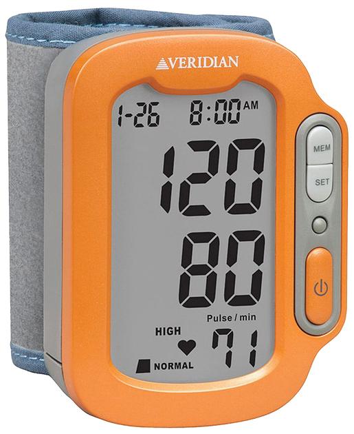Veridian<sup>®</sup> Sports SmartHeart Automatic Digital Blood Pressure Wrist Monitor