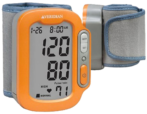 Veridian<sup>®</sup> Sports SmartHeart Automatic Digital Blood Pressure Wrist Monitor