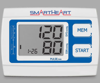 Veridian SmartHeart Automatic Digital Blood Pressure Monitor, Arm Cuff