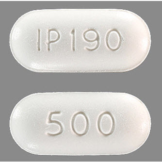 Naproxen, 500mg, 100 Tablets