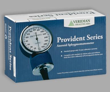 Veridian Provident Series Aneroid Sphygmomanometer