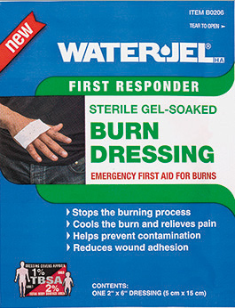 Water-Jel<sup>&reg;</sup> Burn Dressing, 2&rdquo; x 6&rdquo;