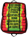 R&B Fire Command Vest Set with Reflective Stripes