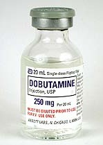 Dobutamine (Dobutrex), USP, 250mg/20mL, 20mL Vial