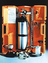 LSP Oxygen Carry Case, Hard Case