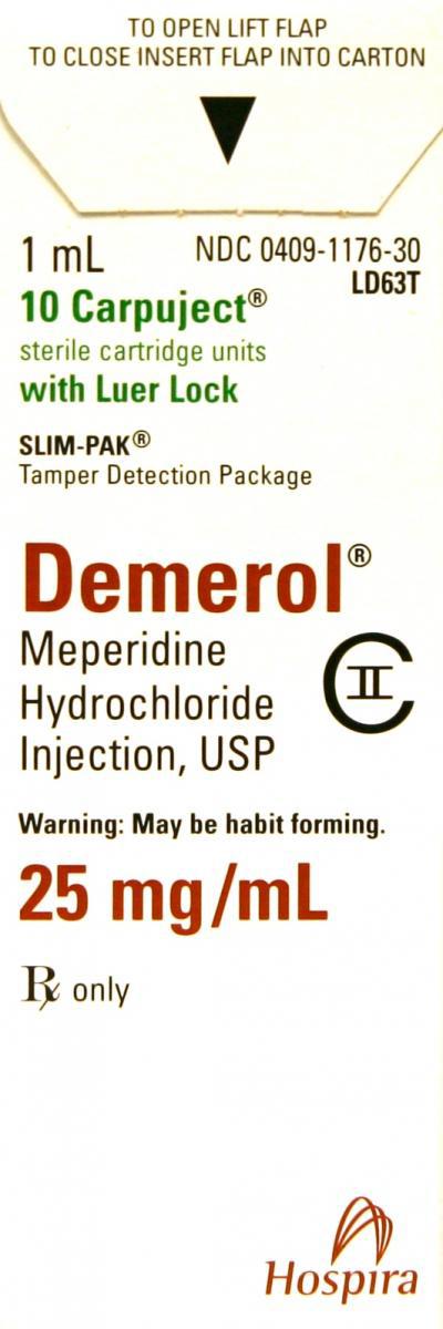 Demerol<sup>®</sup> (Meperidine Hydrochloride) Carpujects<sup>™</sup>, Slim-Pak LL, USP