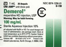 Demerol<sup>®</sup> (Meperidine Hydrochloride), USP, 100mg/mL, 1mL Ampule