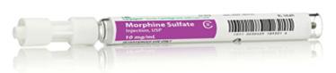 Morphine Sulfate, USP, Slim-Pak LL, 10mg/mL, 1mL Vial