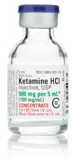 Ketamine Hydrochloride Injection, USP, CIII