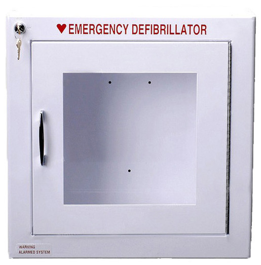 AED Wall Cabinet, Surface Mount, Large