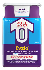 Evzio (Naloxone) Auto-injector, 2mg, 0.4mL, 2-Pack
