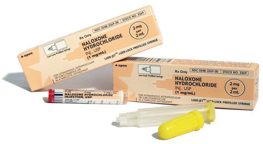 Naloxone HCI Injection, USP, 1mg/mL, 2mL Luer Jet<sup>™</sup>