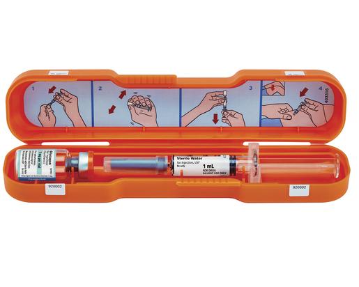 Glucagon Emergency Kit, 1mg/mL, 1mL Vial