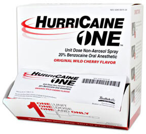 HurriCaine ONE<sup>™</sup> Oral Anesthetic, Wild Cherry