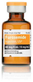 Furosemide, USP, Vial, 10mg/mL, 4mL