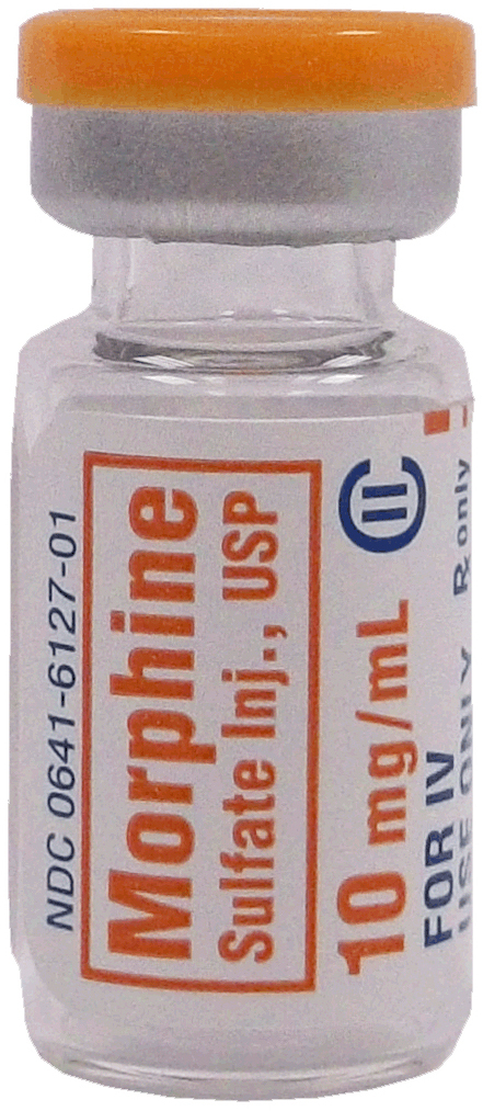Morphine Sulfate Injection, USP, 10mg/mL, 1mL Vial