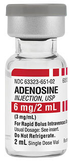 Adenosine (Adenocard) Injection Vials