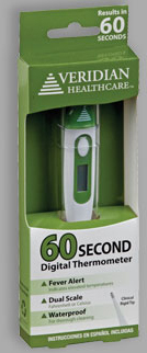Veridian<sup>&reg;</sup> 60-second Digital Thermometer