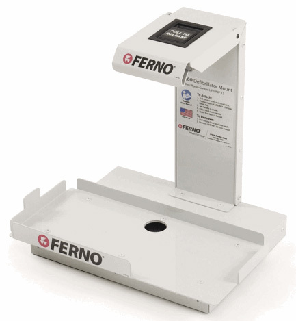 Ferno<sup>®</sup> M-200 Defibrillator Mount for Physio Control LifePak, Compatible with Lifepak 12 and LifePak 15