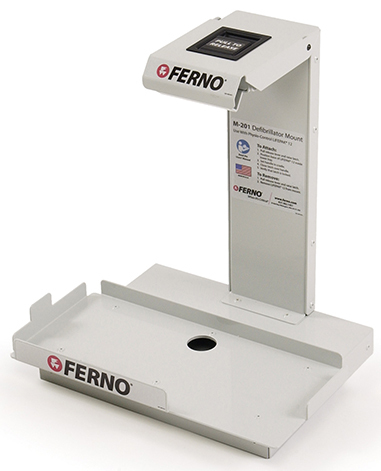 Ferno<sup>®</sup> M-201 Defibrillator Mount for Physio Control LifePak, Compatible with Lifepak 12