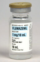 Flumazenil (Romazicon) Vial, 1/10mg/mL, 5mL Vial