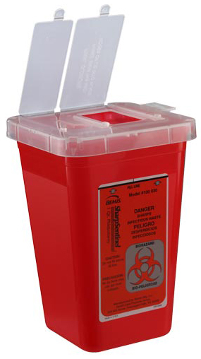 Bemis<sup>&reg;</sup> Multi-purpose Sharps Container, 1qt