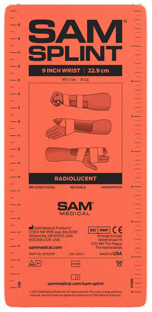 SAM<sup>®</sup> Splint