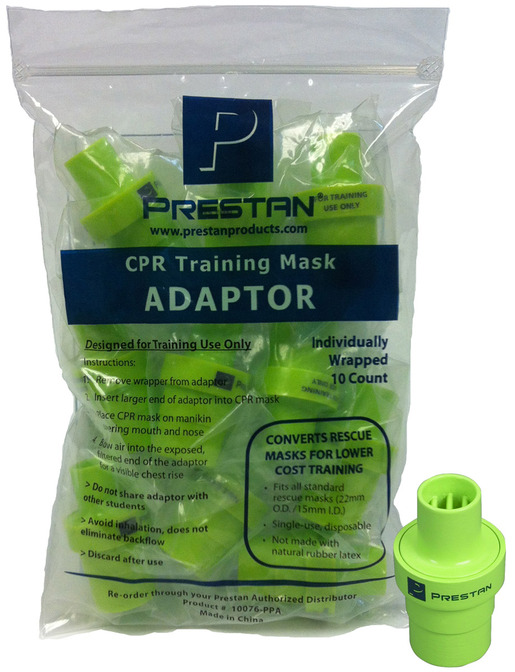 Prestan<sup>®</sup> Rescue Mask Training Adapter