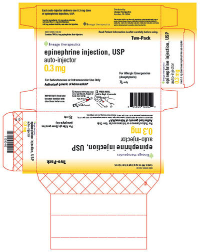 Epinephrine Auto-Injector, 2-pack
