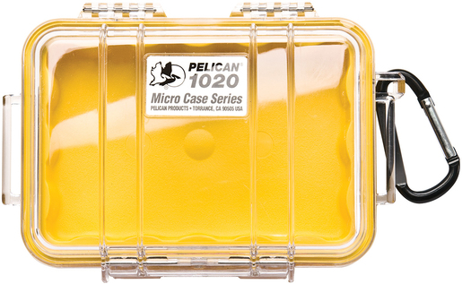 Pelican<sup>™</sup> 1020 Micro Clear Case with Liner