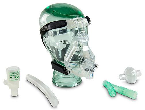 "WhisperPak Large Performatrak Mask, 7.5cm Valve, 36"""