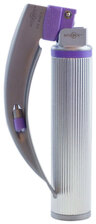 Intubrite<sup>&reg;</sup> Disposable Laryngoscope Blade and Handle Combo, Dual LED, Miller, Size 2, Medium Handle