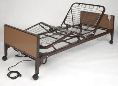 Hospital Nursing Bed, Semi-electric