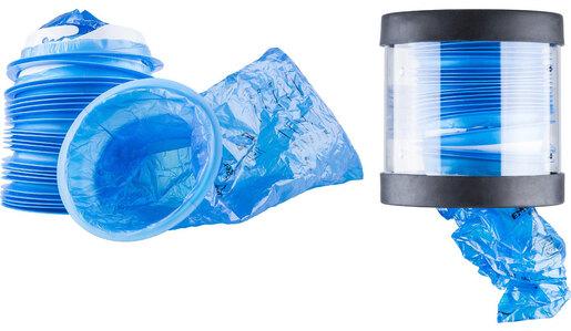 Curaplex<sup>®</sup> Emesis Bags, Blue, 1000CC