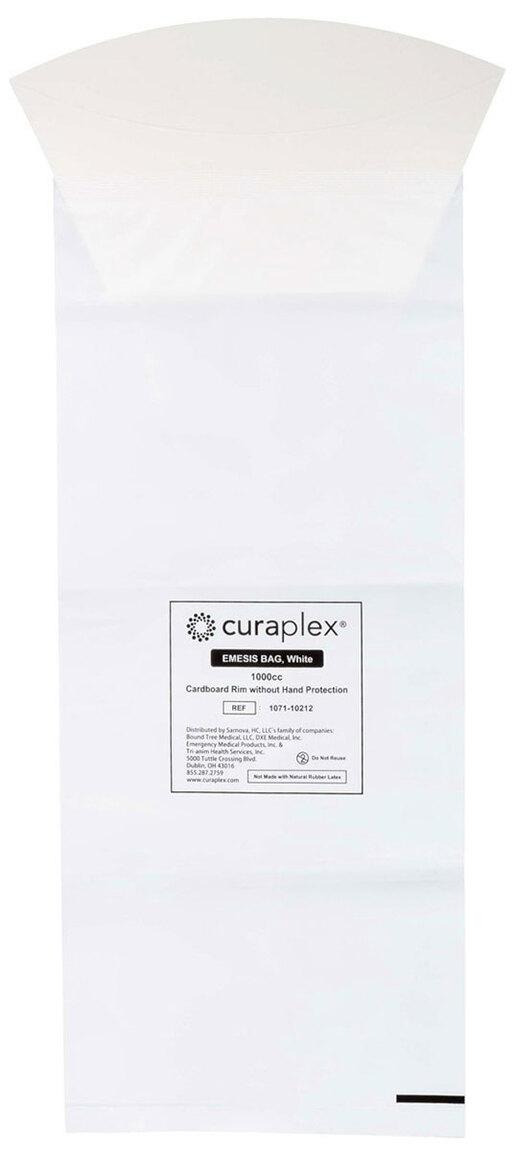 Curaplex<sup>®</sup> Emesis Bags, 1000CC, Cardboard Rim