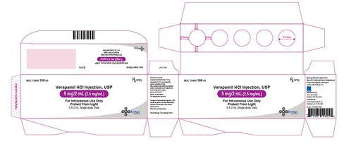 Verapamil HCI Injection, USP 5mg/mL, 2mL Vial