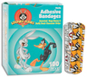 "Looney Tunes Assorted Adhesive Bandages, 3/4"" x 3"""