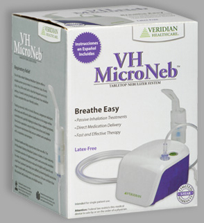 Veridian<sup>®</sup> MicroNeb<sup>™</sup> Compressor Nebulizer System