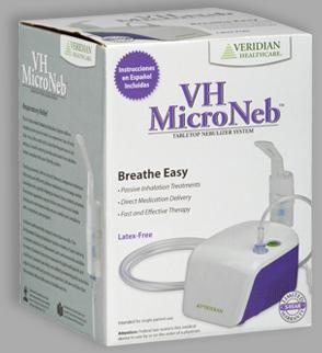 Veridian<sup>&reg;</sup> MicroNeb<sup>™</sup> Compressor Nebulizer System