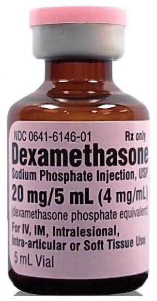 Dexamethasone (Decadron, Hexadrol) Vial