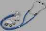 Veridian Sprague Rappaport-type Stethoscope, Royal Blue